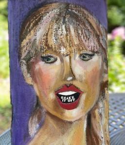 3d portrait Taylor Swift